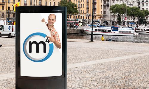 Logotyp för M4